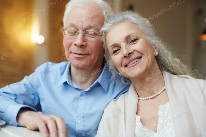 Serene pensioners
