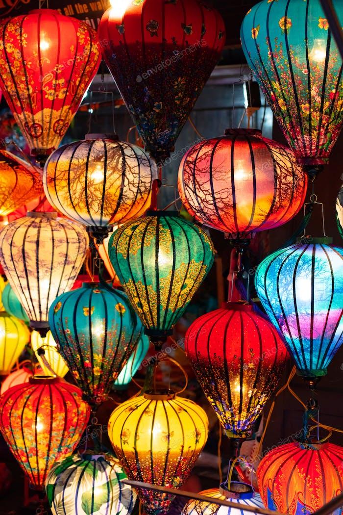 Hoi An Lanterns in Vietnam