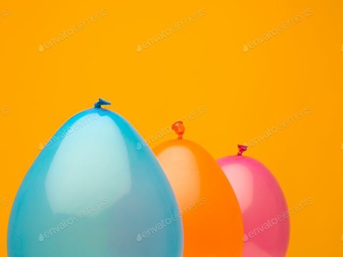 joyful colorful spheres