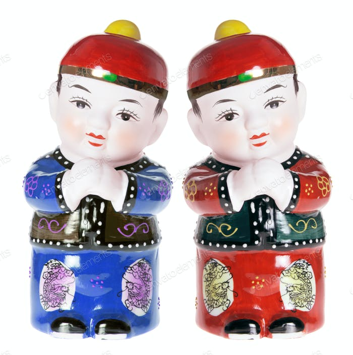 Chinese Boy Figurines