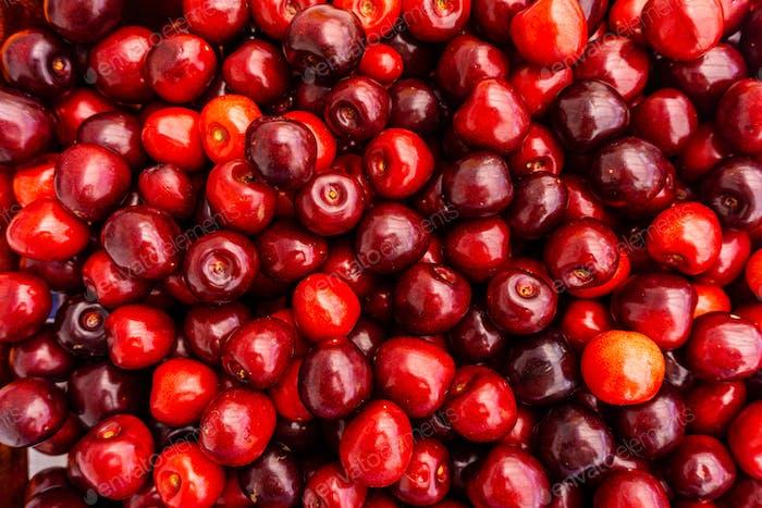 Kirsche Obst Hintergrund, Kirsche Textur-Muster