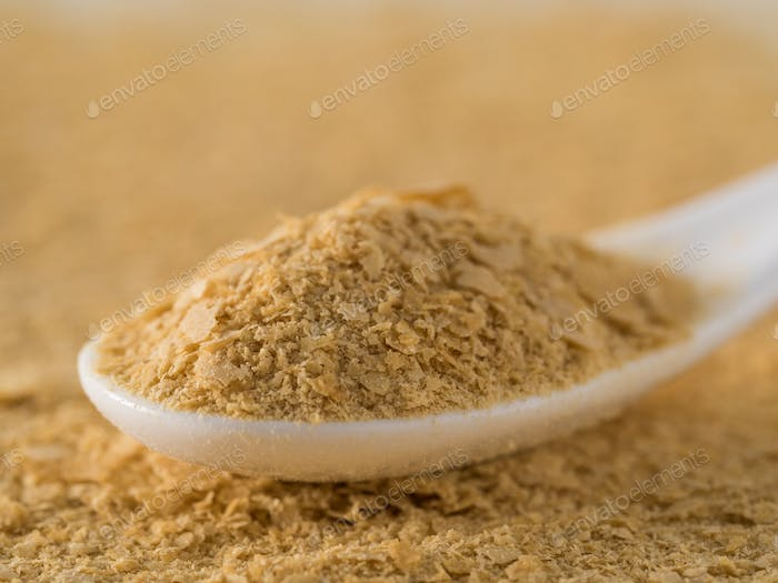 Nutritional inactive yeast