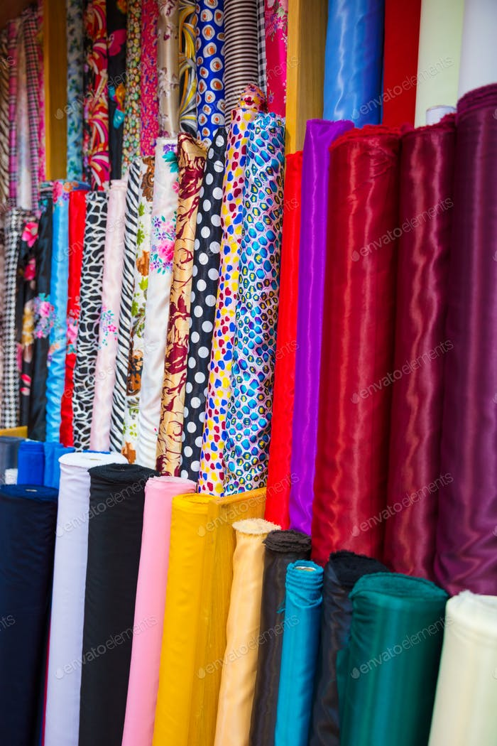 Colorful Cloths For Sale At Store