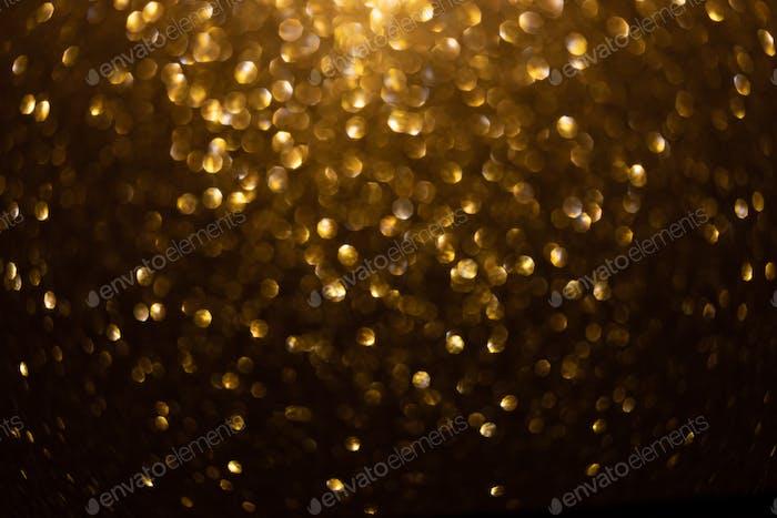 gold sparkling background bokeh