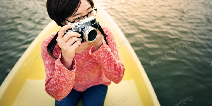 Boat Trip Traveling Holiday Photography Concept