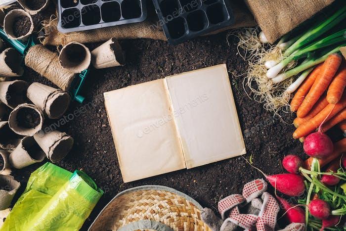 Buch der Geheimnisse über den Anbau von organischen heimischen Produkten, top vi