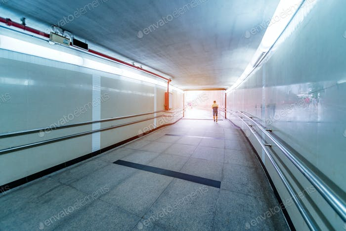 pedestrian tunnel