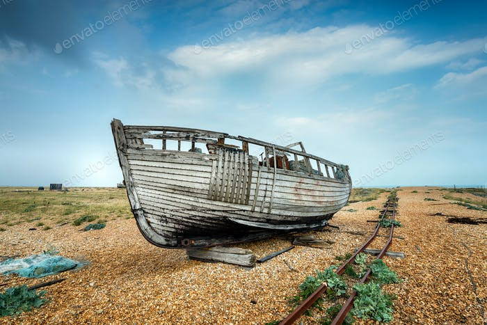 Old Wrecked Boat