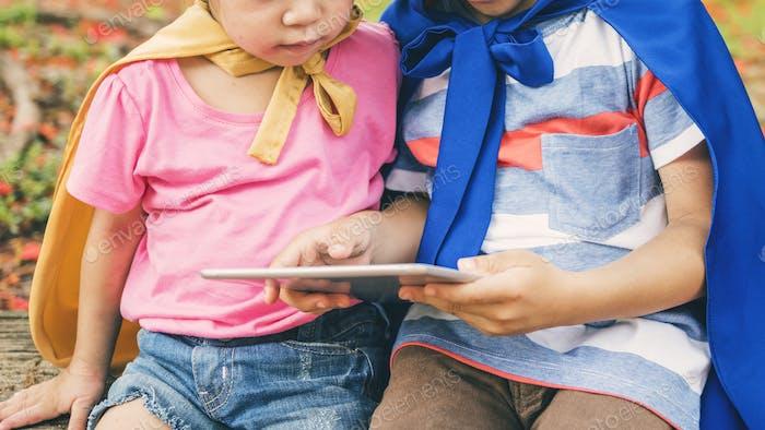 Toddler Education Digital Kids Children Adorable Concept