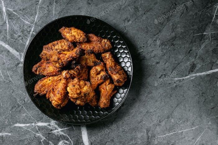 Fried drum stick chicken legs