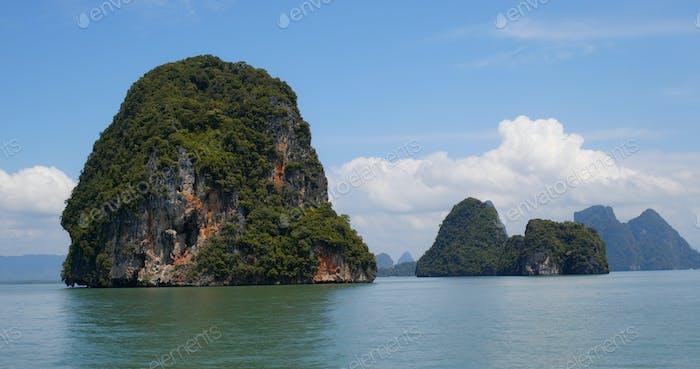 Phang Nga Bucht in Thailand Phuket