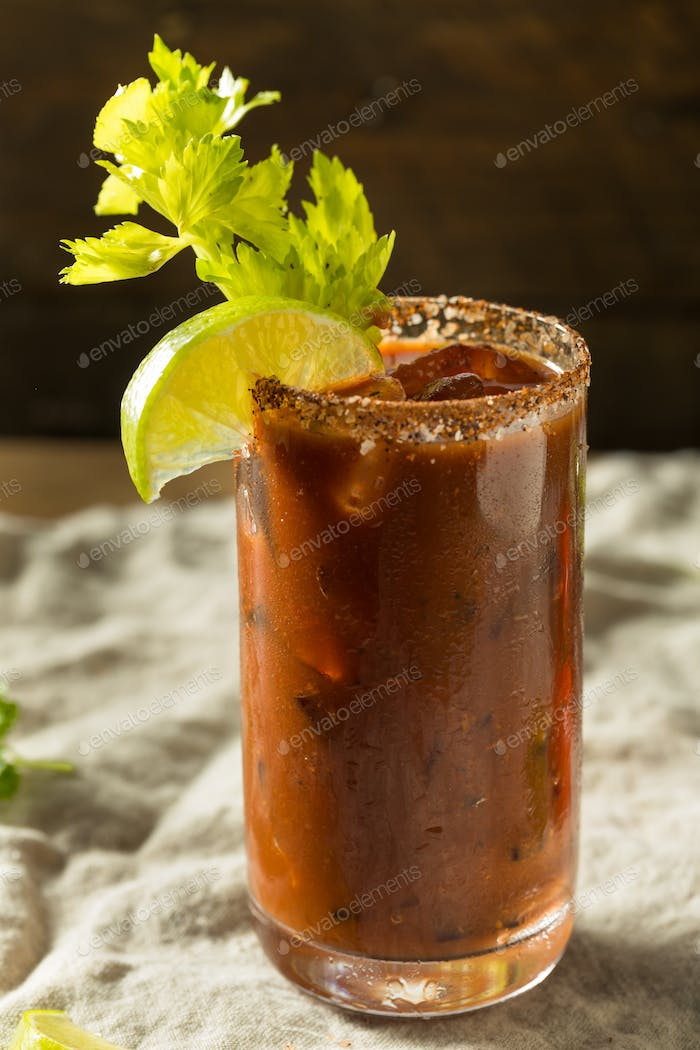 Spicy Organic Bloody Mary