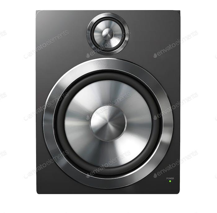 Speaker on white background