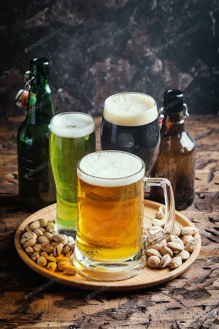 verschiedene Arten von Craft Beer