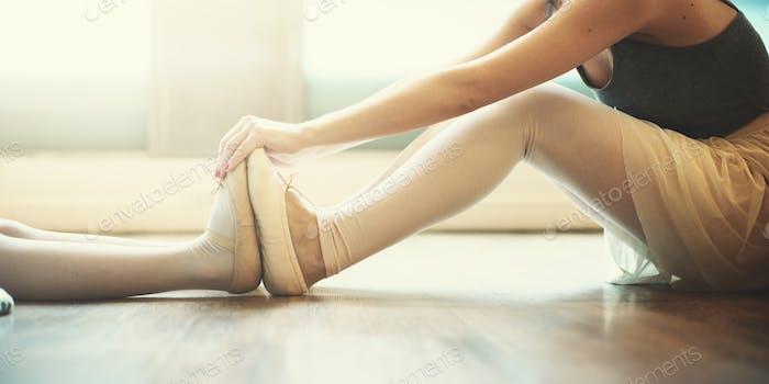 Thumbnail for Ballerina Ballet Dance Practice Innocent Concept