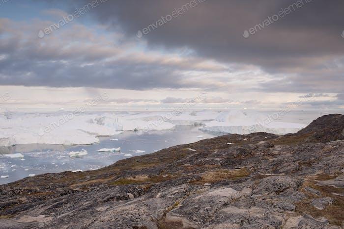 Landscape in Ilulissat