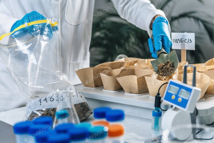 Soil Testing. Laboratory Process