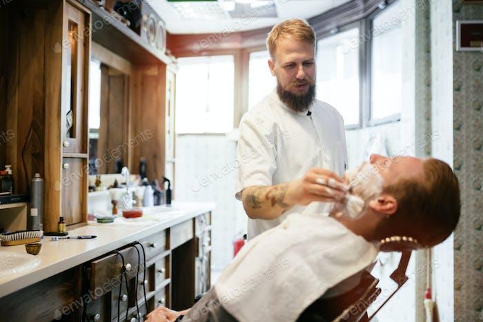 Haarschnurrbart Bart Behandlung