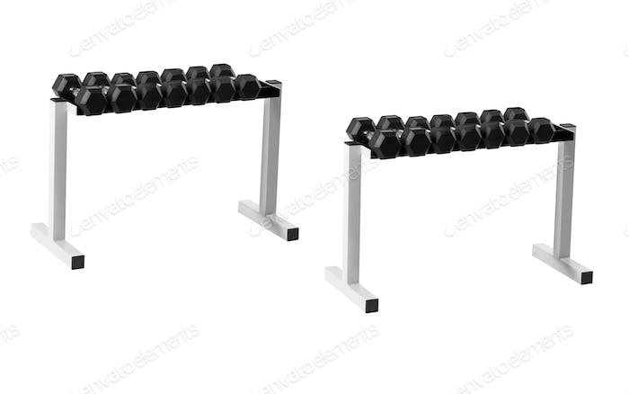 Dumbells stand