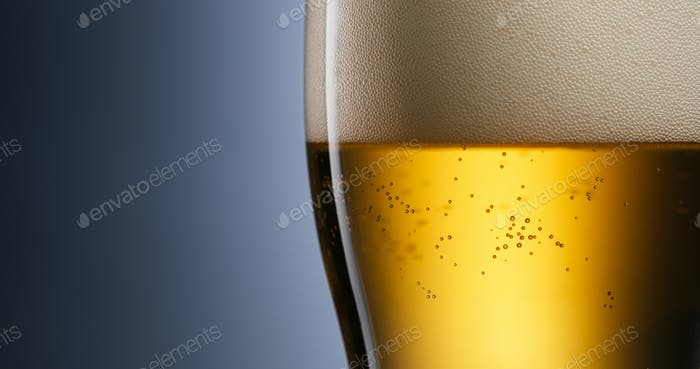 Alcoholism And Addiction Issues Lager Beer Pouring Into Glass
