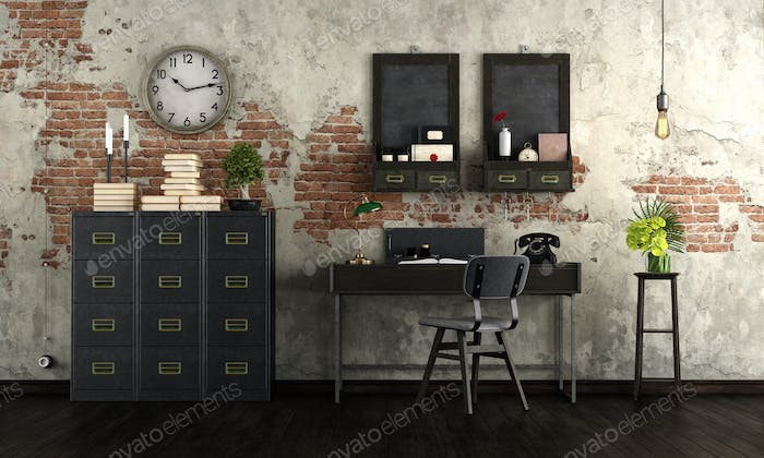 Old home office