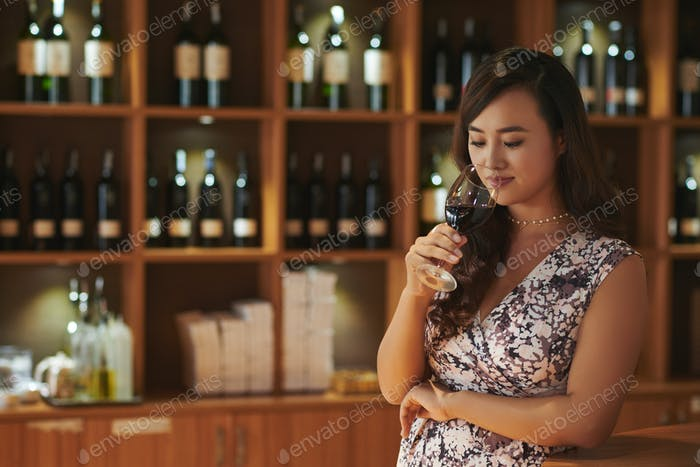 Professional sommelier