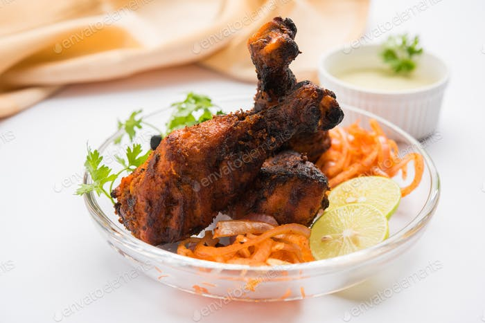 Huhn Tangri Kabab