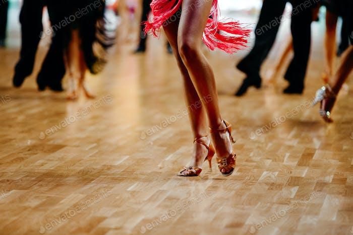Füße Frau Tänzerin