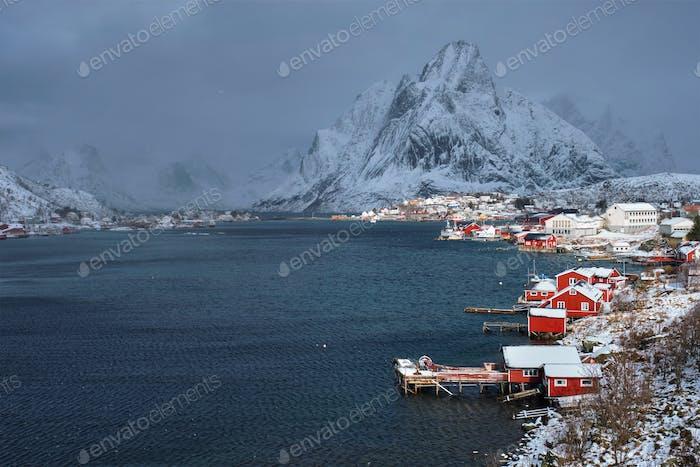 Fischerdorf Reine, Norwegen