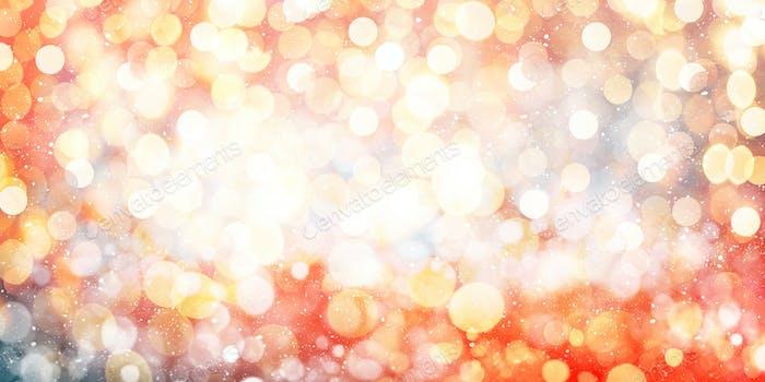 Christmas and New Year bokeh