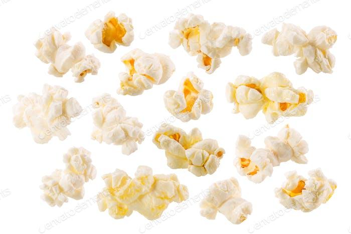 Butterfly popcorn set, paths