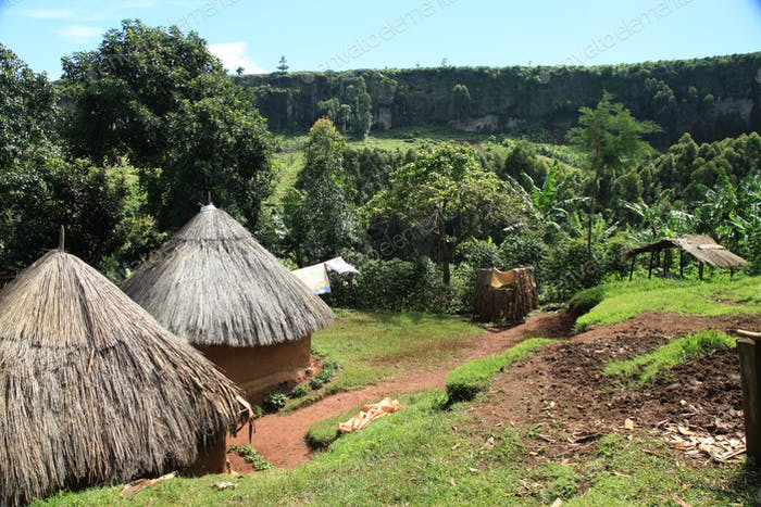 Traditional Building - Uganda, Africa