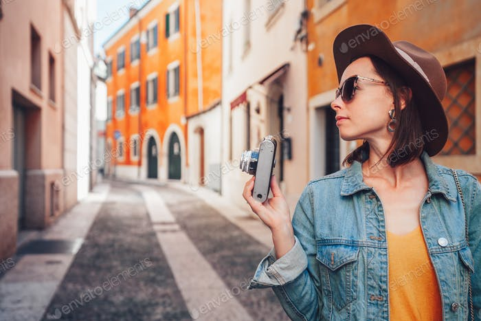 Young photographer in Verona