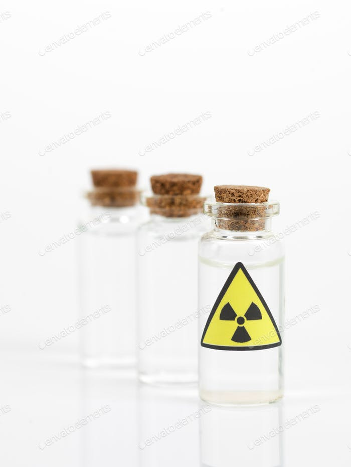 radioactive isotope samples
