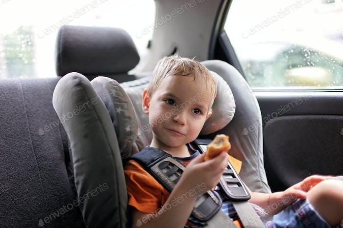 Familienreise mit dem Auto