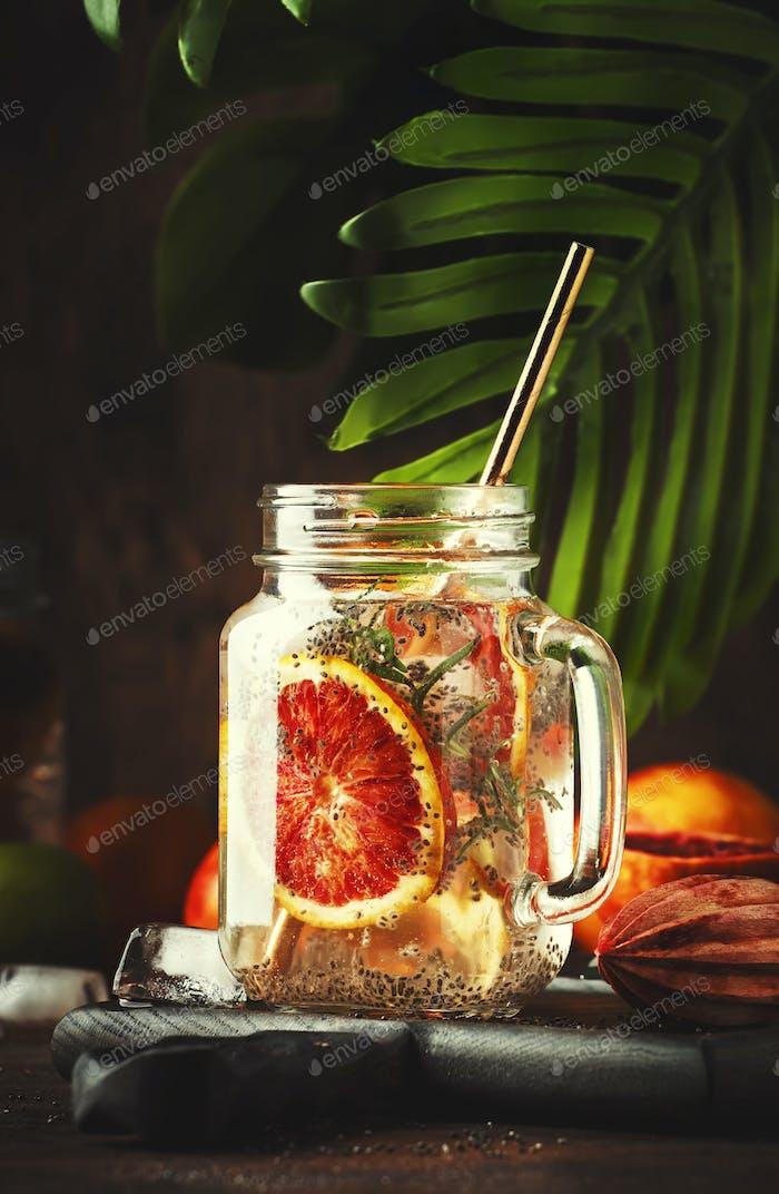 Summer cold detox drink