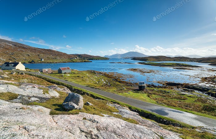 Loch Leosavay on the Isle of Harris