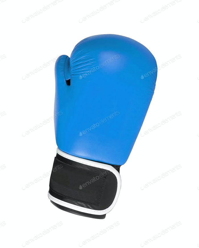 Boxing glove isolated