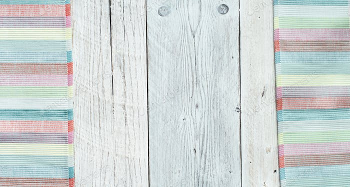 Aged white wood background
