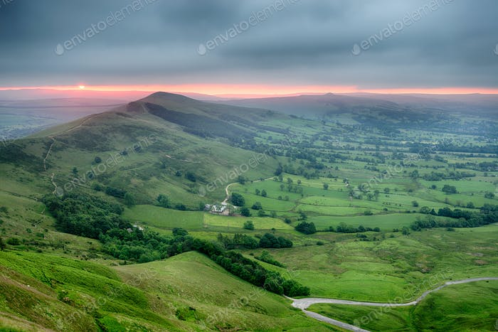 Stunning Sunrise over Mam Tor