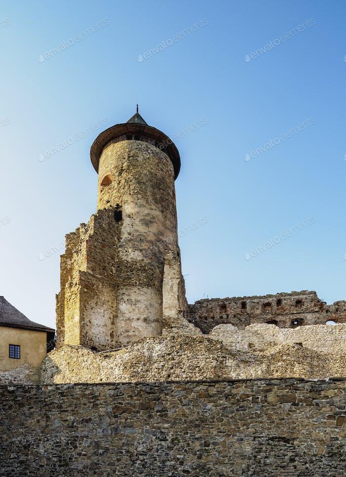 Castle in Stara Lubovna, Slovakia