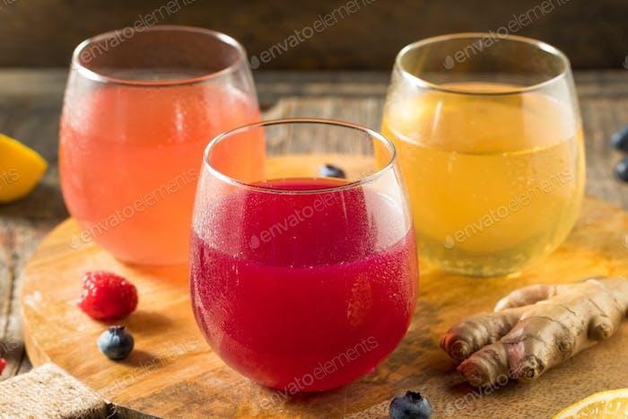 Boozy Alkoholiker Harter Kombucha Apfelwein