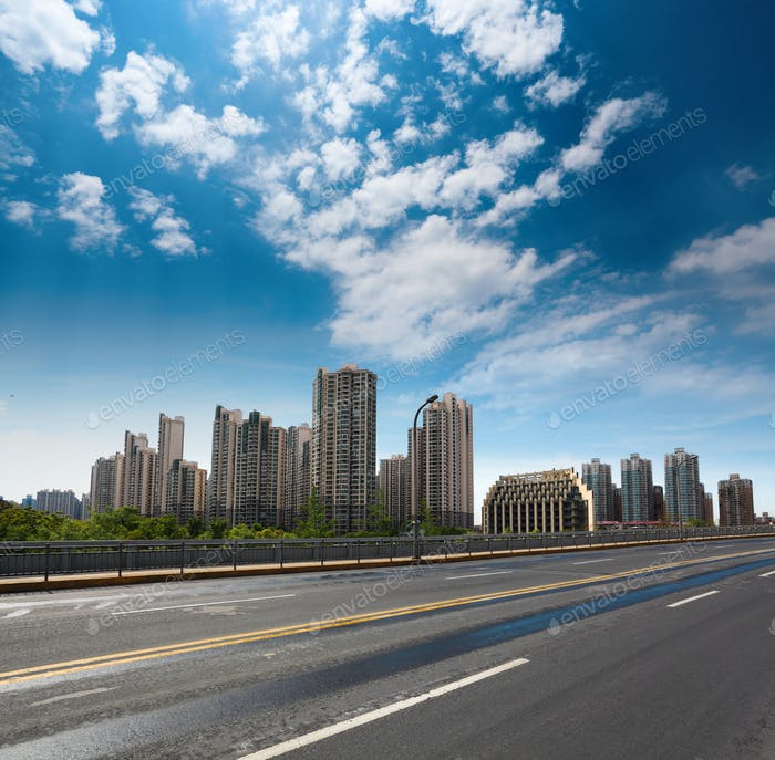 city highway background