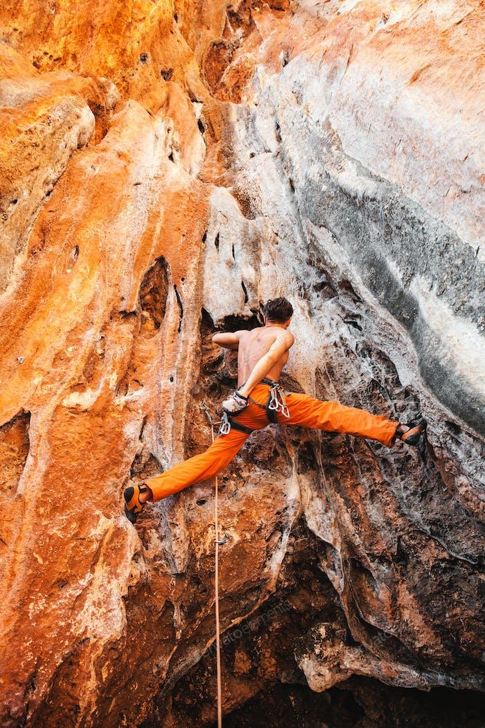 Mutige Wahl - Klettern