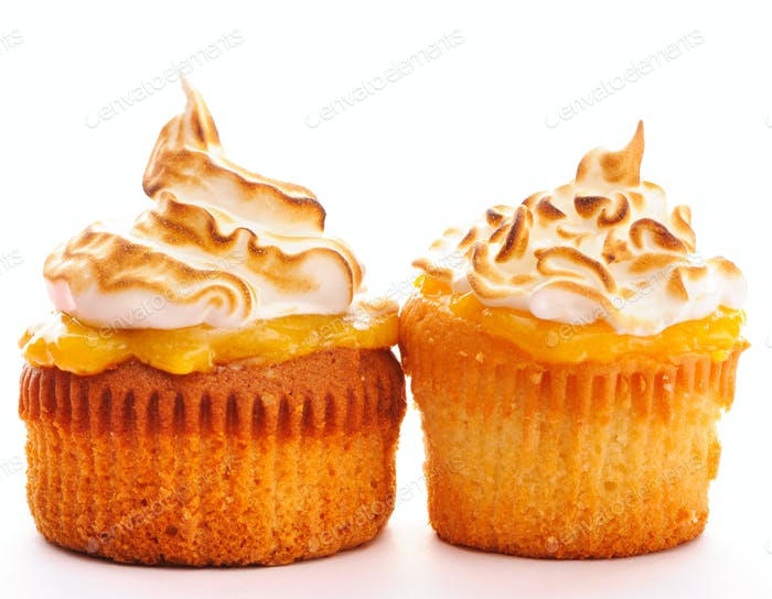 Thumbnail for Cupcakes with whipped cream
