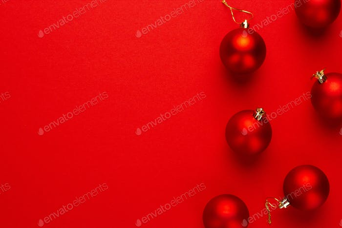 Red Christmas Tree Decoration