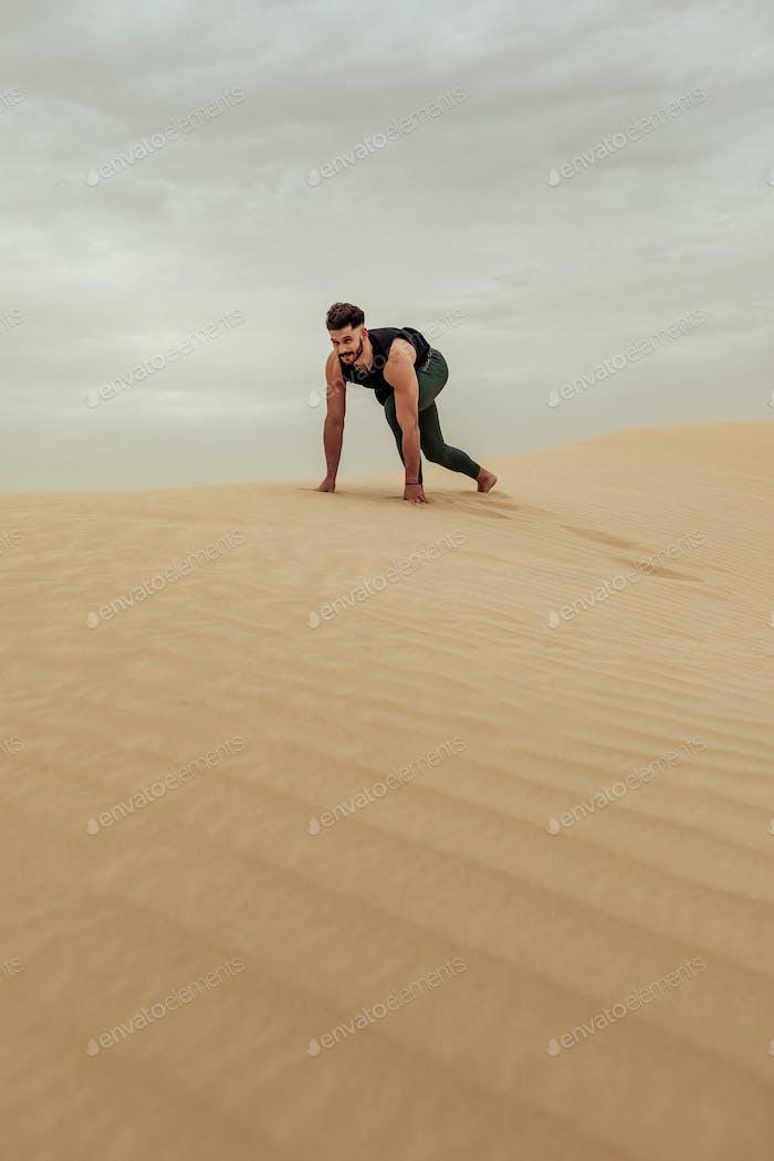 Epic desert training