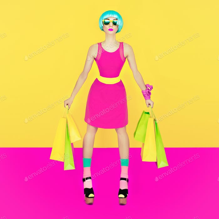 Puppet girl, Crazy Shopping