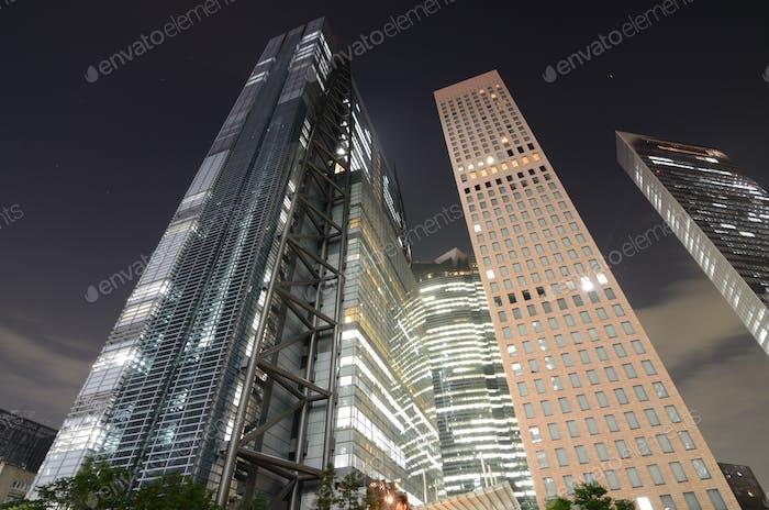 Tokyo Wolkenkratzer
