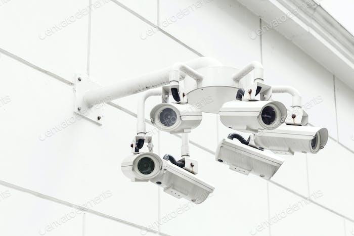 Wall mounted Surveillance camera